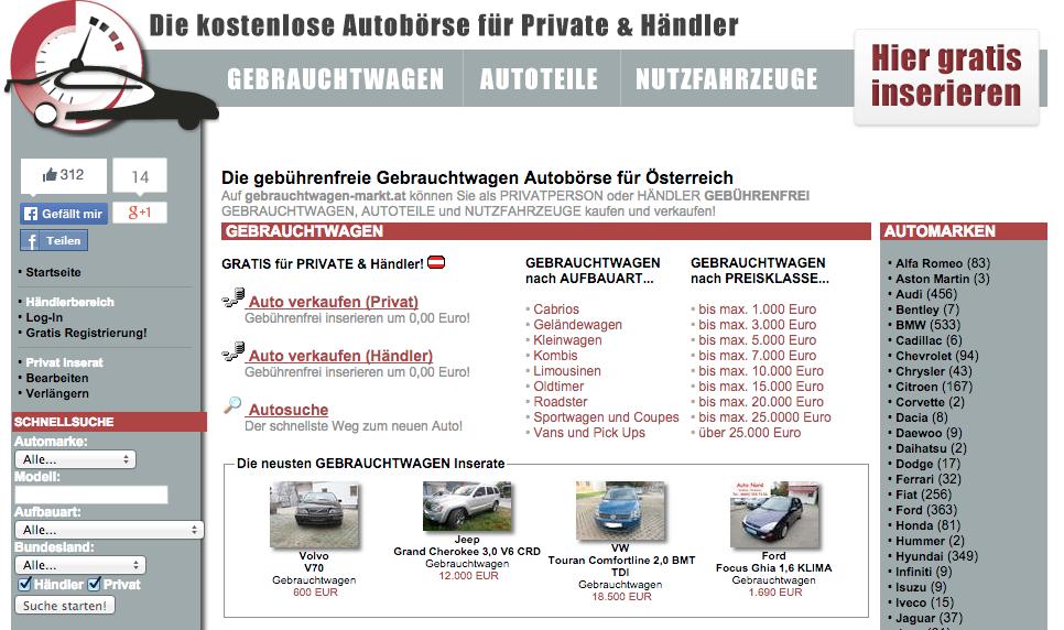gebrauchtwagen-markt.at